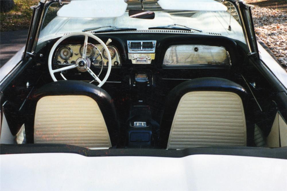 1959 FORD THUNDERBIRD CONVERTIBLE - Interior - 21210