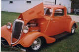 1934 FORD 3 WINDOW COUPE STREET ROD -  - 21211