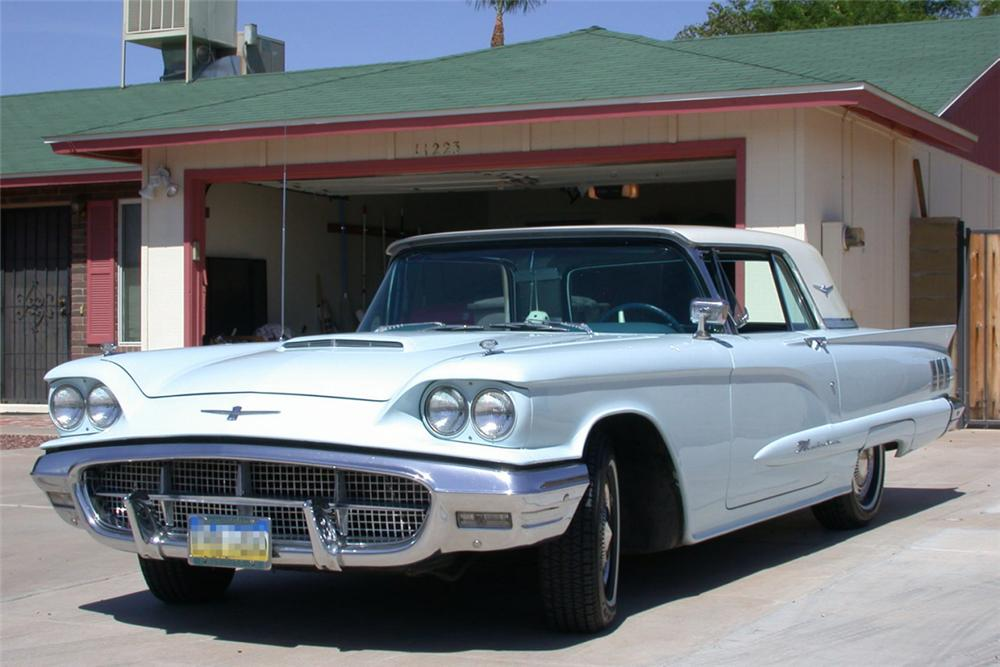 1960 ford thunderbird hardtop 21214. Cars Review. Best American Auto & Cars Review
