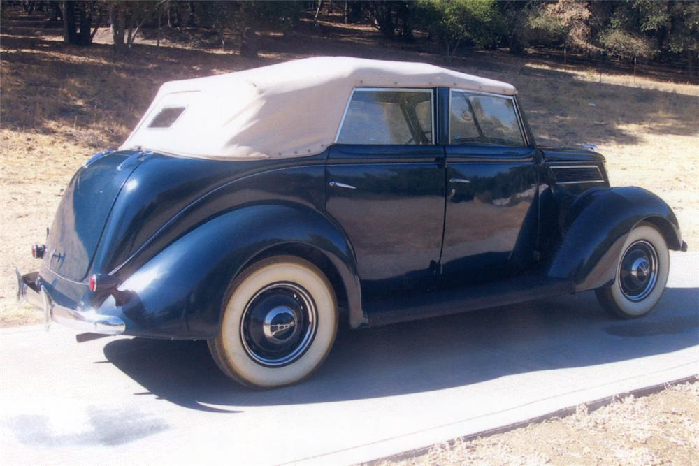 1937 ford 4 door convertible 21217
