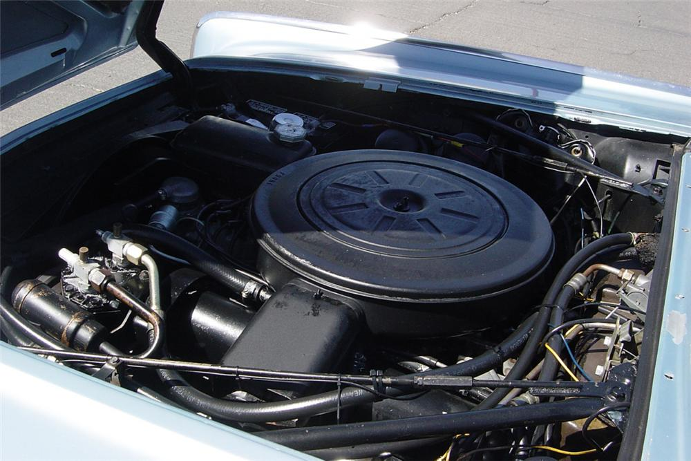 1962 LINCOLN CONTINENTAL 4 DOOR CONVERTIBLE - Engine - 21224