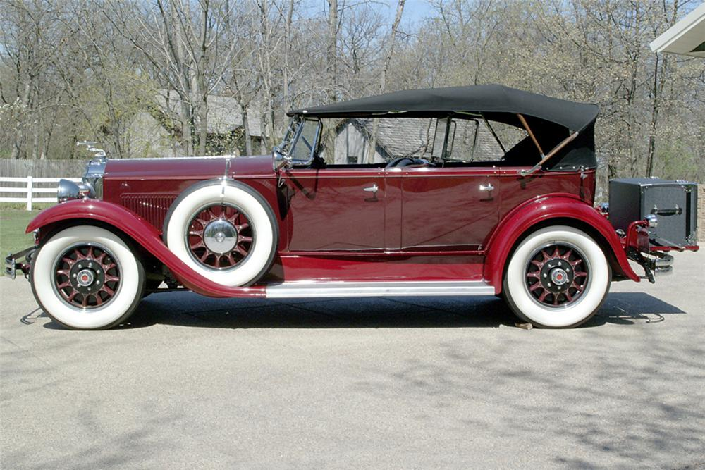 1931 PACKARD 833 4 DOOR CONVERTIBLE - Front 3/4 - 21233