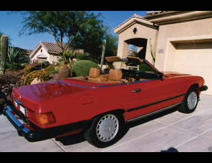 1986 MERCEDES-BENZ 560SL CONVERTIBLE -  - 21237