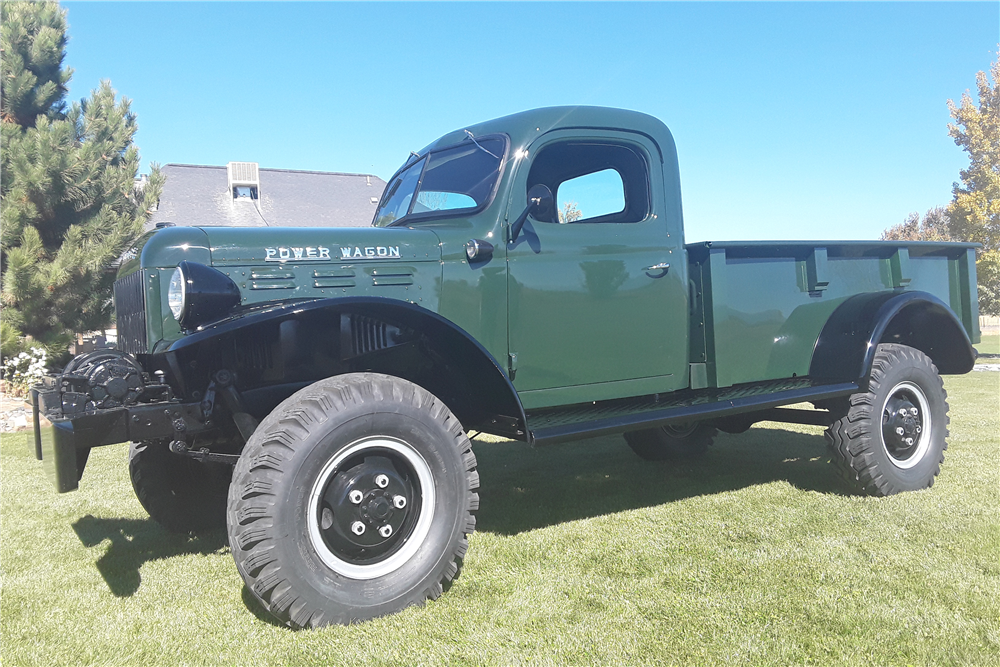 1946 DODGE POWER WAGON PICKUP - Front 3/4 - 212374