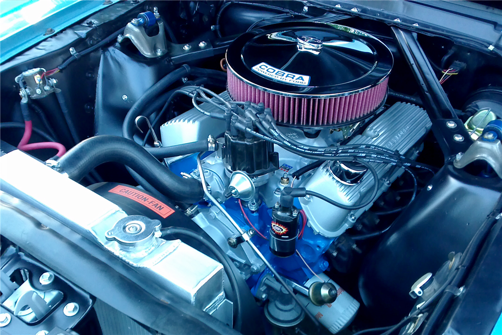 1966 FORD MUSTANG CUSTOM COUPE - Engine - 212394