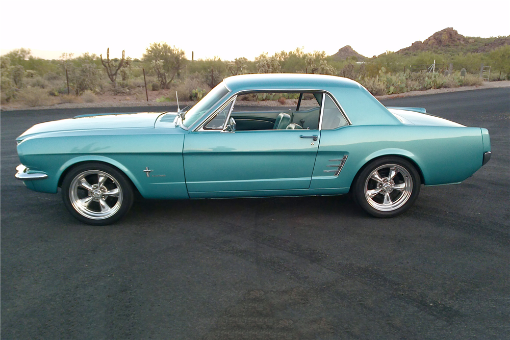 1966 FORD MUSTANG CUSTOM COUPE - Side Profile - 212394