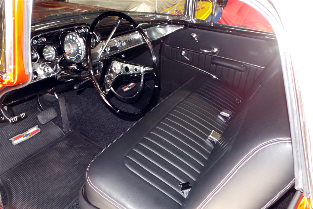 1957 CHEVROLET NOMAD CUSTOM WAGON - Interior - 212404