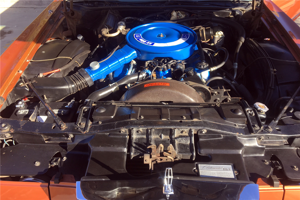 1972 LINCOLN CONTINENTAL MARK IV - Engine - 212432