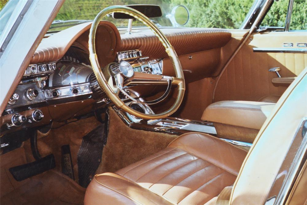 1962 CHRYSLER 300H CONVERTIBLE - Interior - 21244