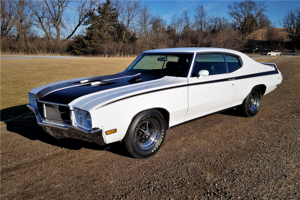 1970 BUICK GSX - Front 3/4 - 212463