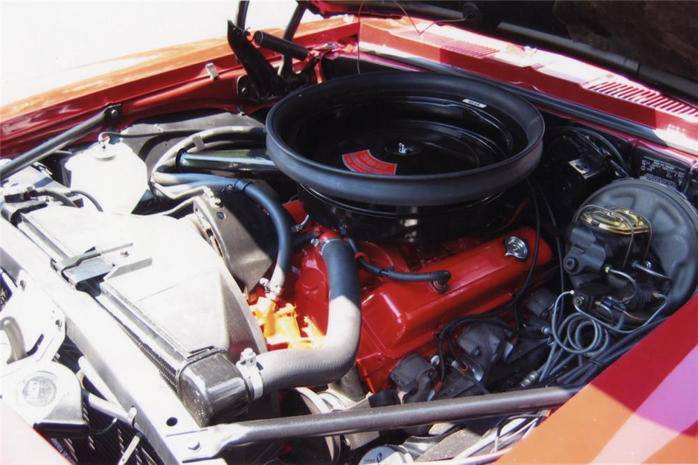 1969 CHEVROLET CAMARO RS/SS CONVERTIBLE - Engine - 21252
