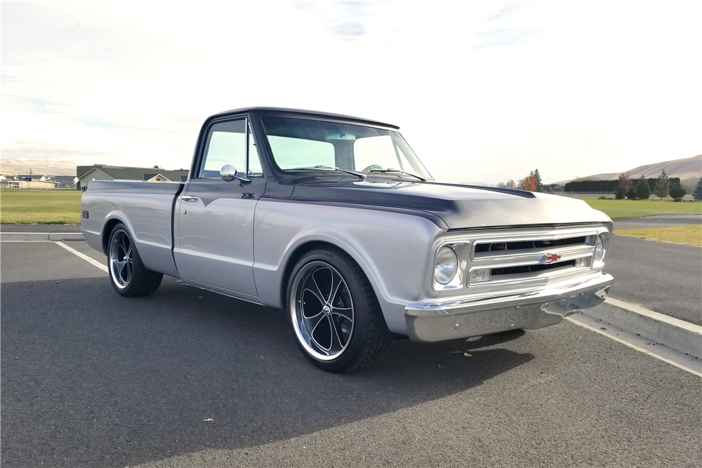 1971 CHEVROLET C-10 CUSTOM PICKUP - Front 3/4 - 212537