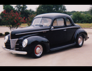 1940 FORD CUSTOM COUPE -  - 21255
