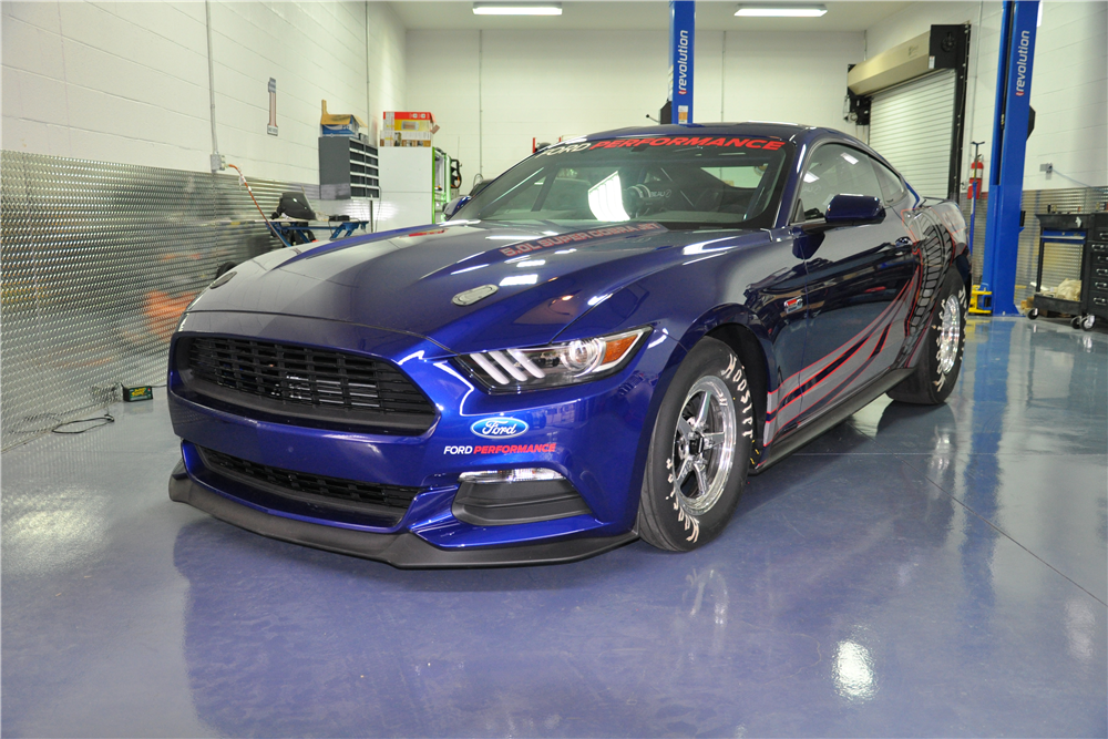 2016 FORD MUSTANG COBRA JET RACE CAR - Front 3/4 - 212572