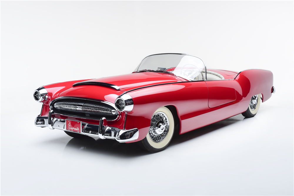 1954 PLYMOUTH BELMONT CONCEPT CAR - Front 3/4 - 212580
