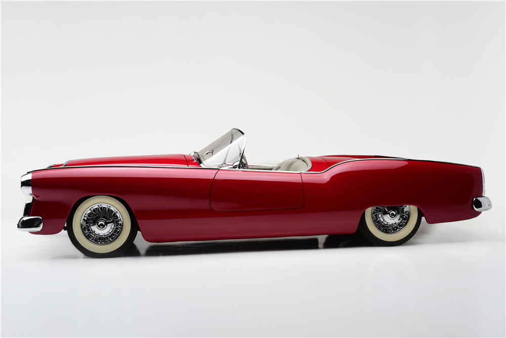 1954 PLYMOUTH BELMONT CONCEPT CAR - Side Profile - 212580