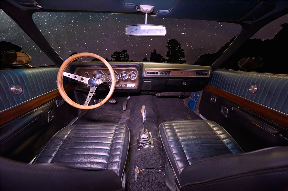 1971 DODGE CHARGER 500 - Interior - 212598