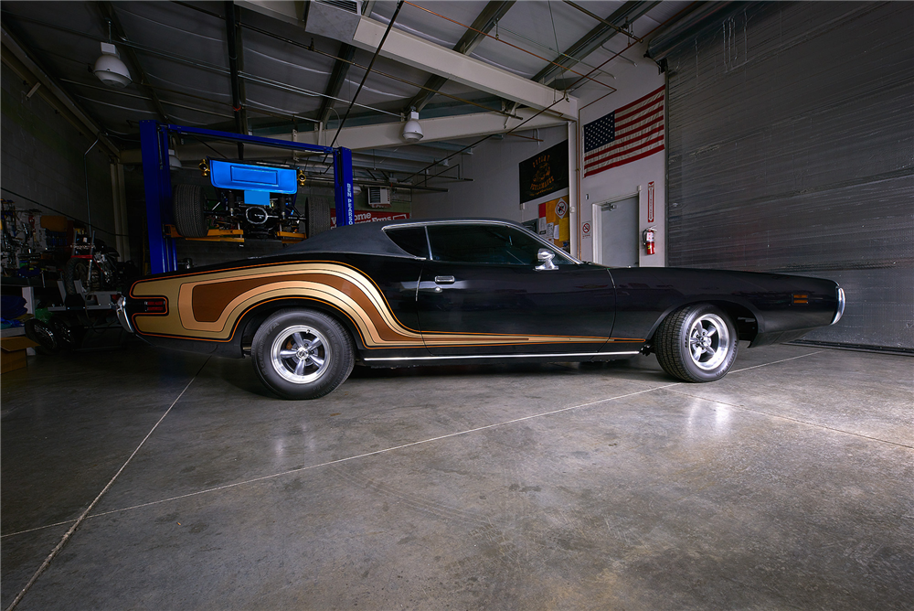 1971 DODGE CHARGER 500 - Side Profile - 212598