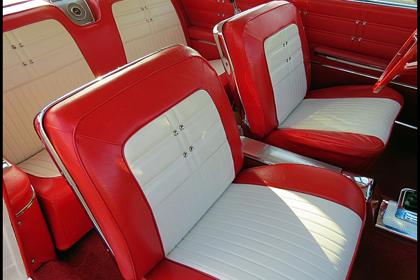 1963 CHEVROLET IMPALA SS 409 CUSTOM COUPE - Interior - 212660