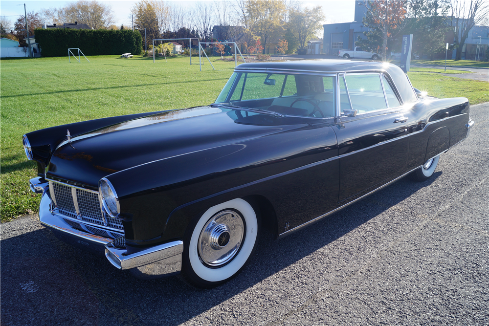 1956 LINCOLN CONTINENTAL MARK II - Front 3/4 - 212711