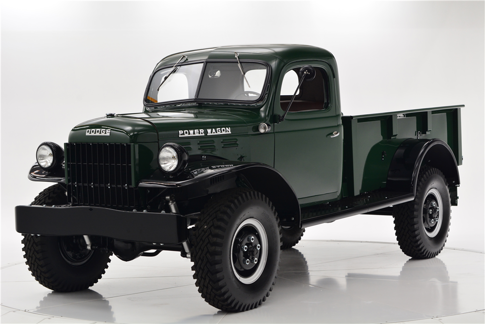 1948 DODGE POWER WAGON PICKUP - Front 3/4 - 212720