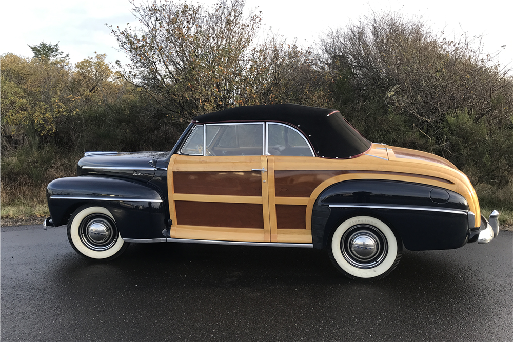 1948 FORD SPORTSMAN WOODY CONVERTIBLE - Side Profile - 212721