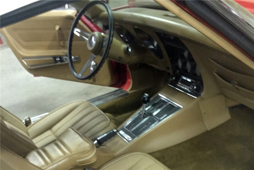 1974 CHEVROLET CORVETTE 327/350 CONVERTIBLE - Interior - 212730