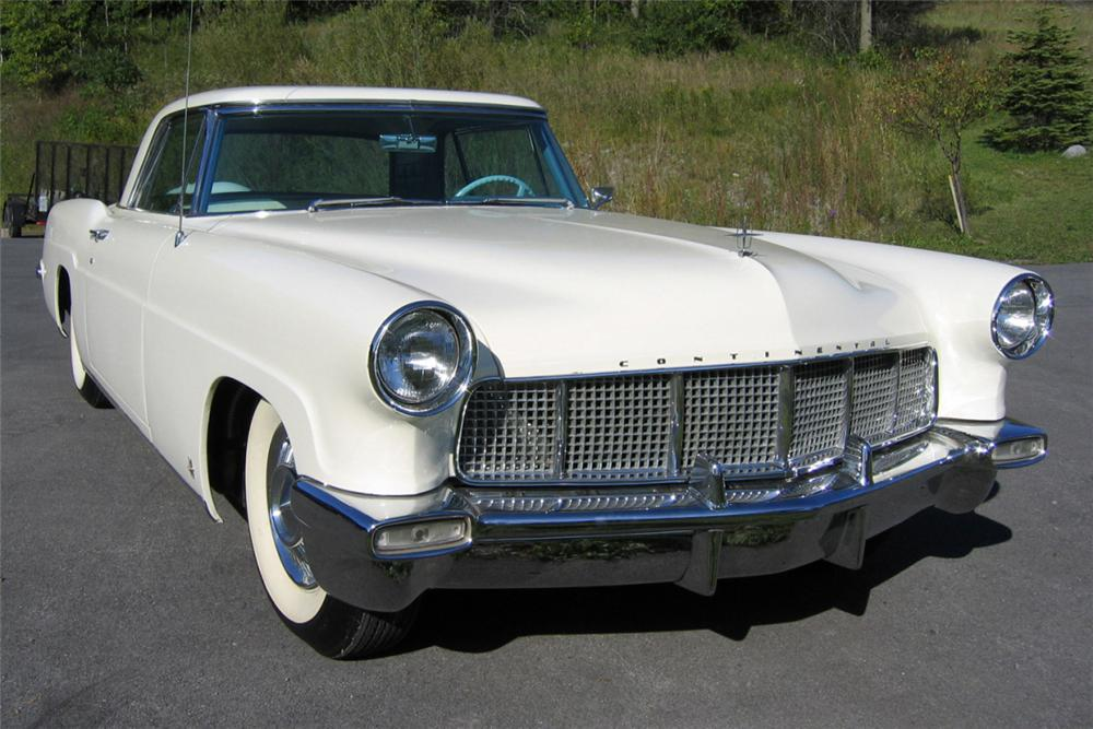 1957 LINCOLN CONTINENTAL MARK II 2 DOOR HARDTOP - Front 3/4 - 21276