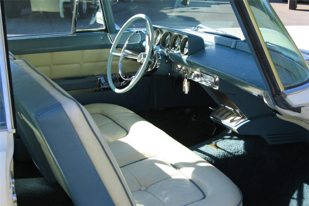1957 LINCOLN CONTINENTAL MARK II 2 DOOR HARDTOP - Interior - 21276