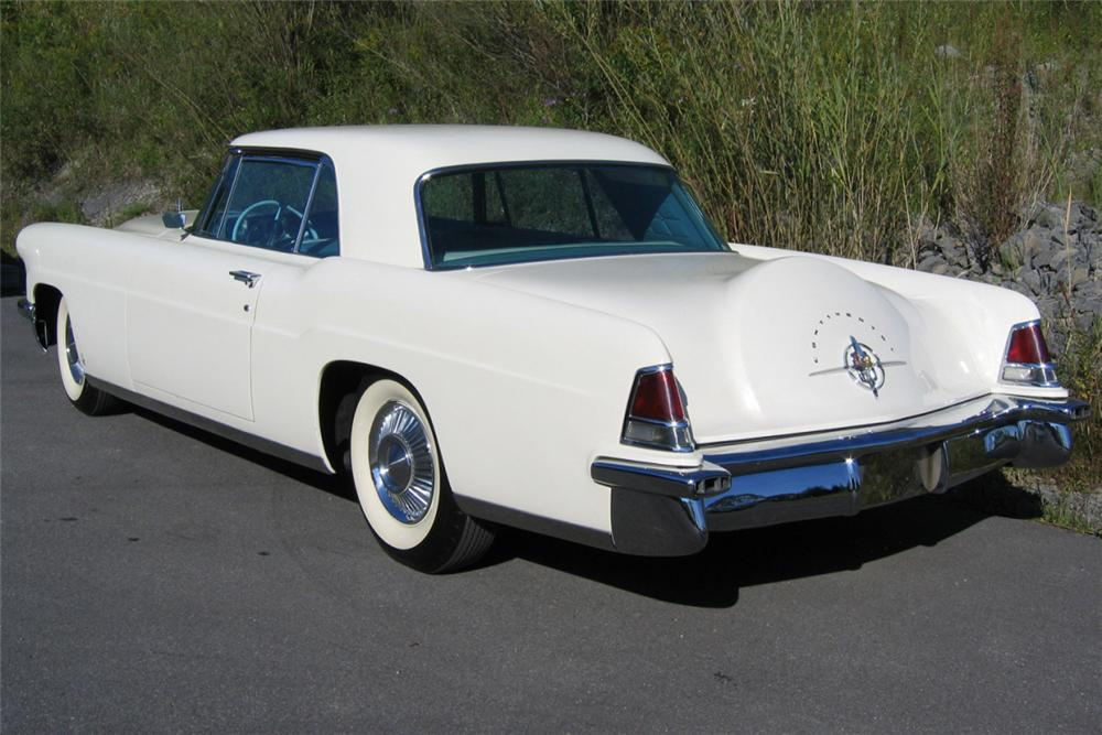 1957 LINCOLN CONTINENTAL MARK II 2 DOOR HARDTOP - Rear 3/4 - 21276