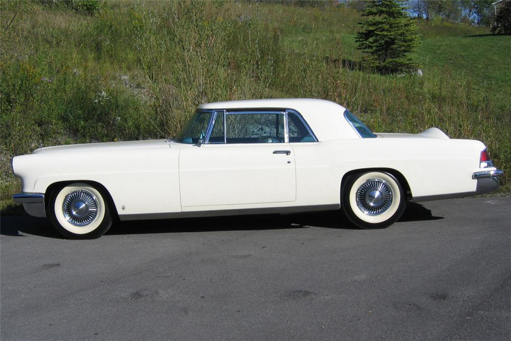 1957 LINCOLN CONTINENTAL MARK II 2 DOOR HARDTOP - Side Profile - 21276