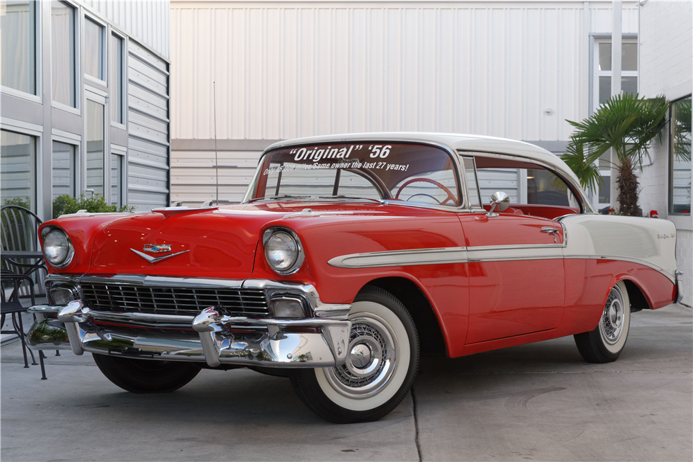 1956 CHEVROLET BEL AIR - Front 3/4 - 212823