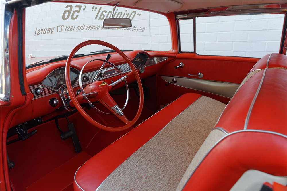 1956 CHEVROLET BEL AIR - Interior - 212823