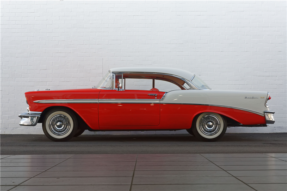 1956 CHEVROLET BEL AIR - Side Profile - 212823
