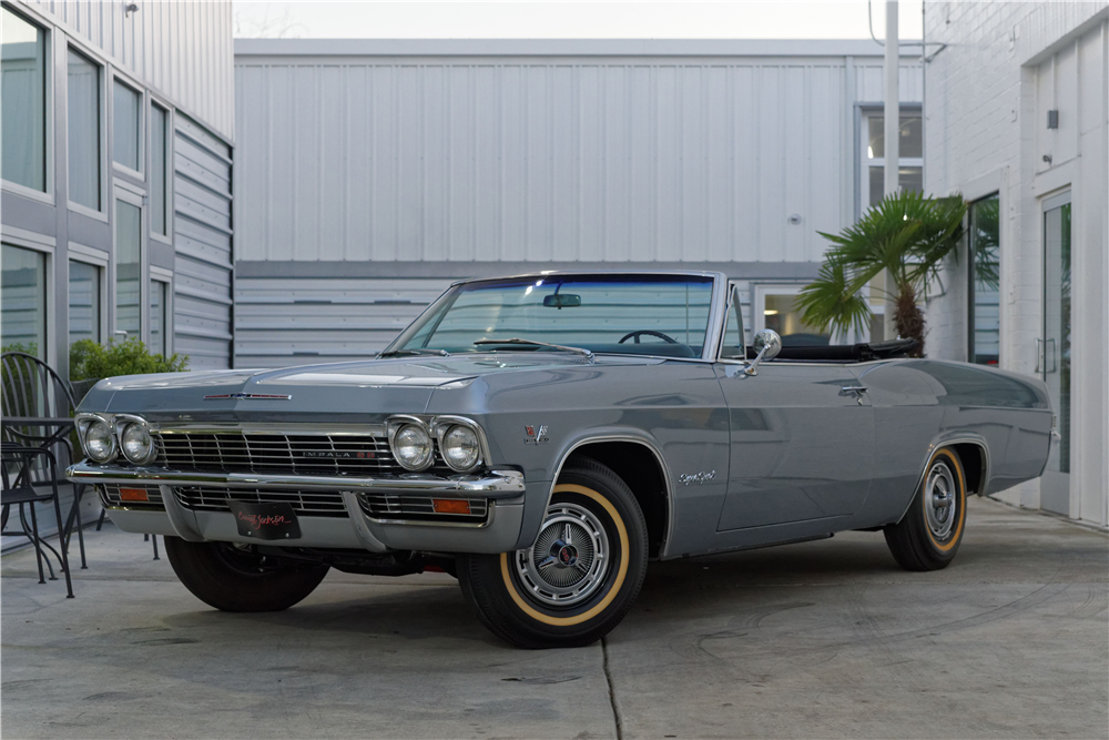1965 CHEVROLET IMPALA SS CONVERTIBLE - Front 3/4 - 212825