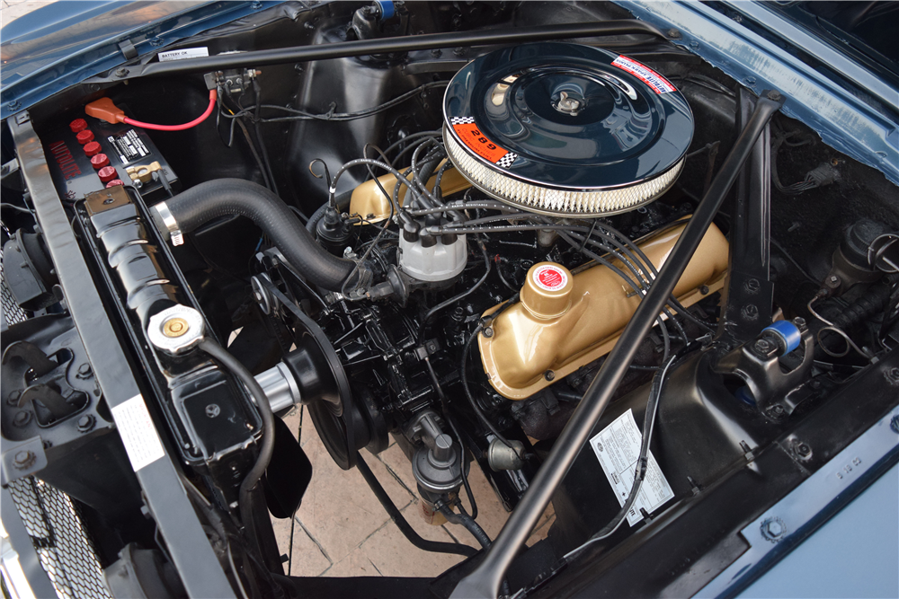 1965 FORD MUSTANG CONVERTIBLE - Engine - 212834