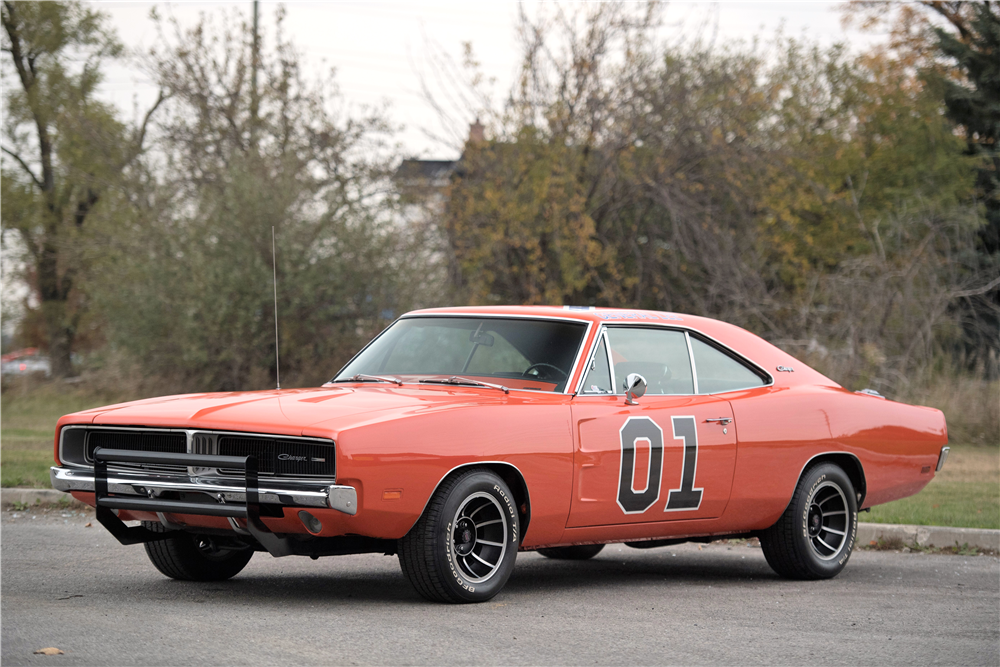 1969 DODGE CHARGER CUSTOM COUPE - Front 3/4 - 212845