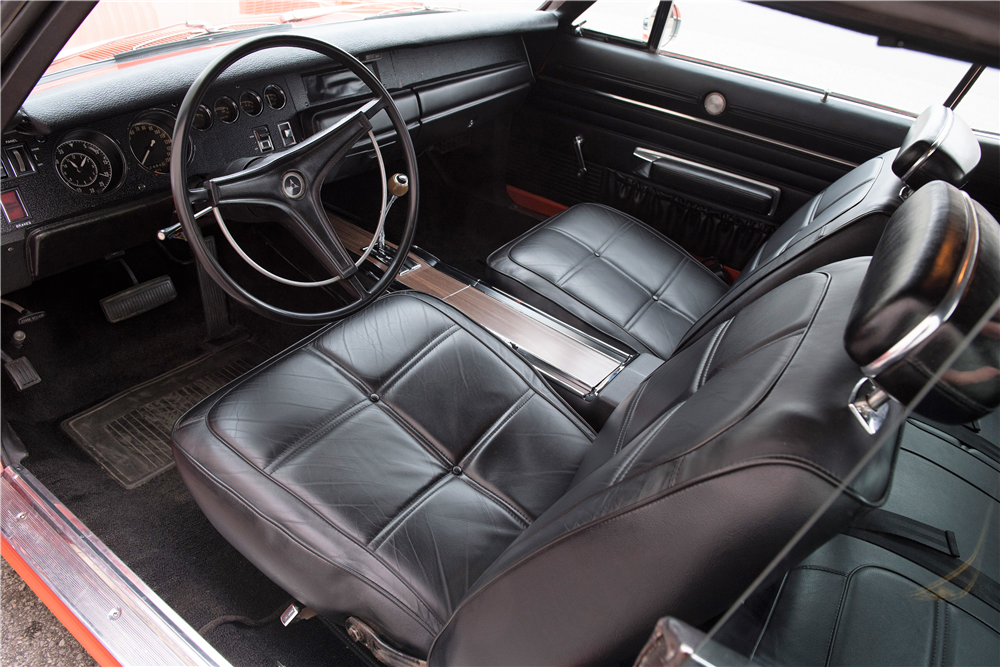 1969 DODGE CHARGER CUSTOM COUPE - Interior - 212845