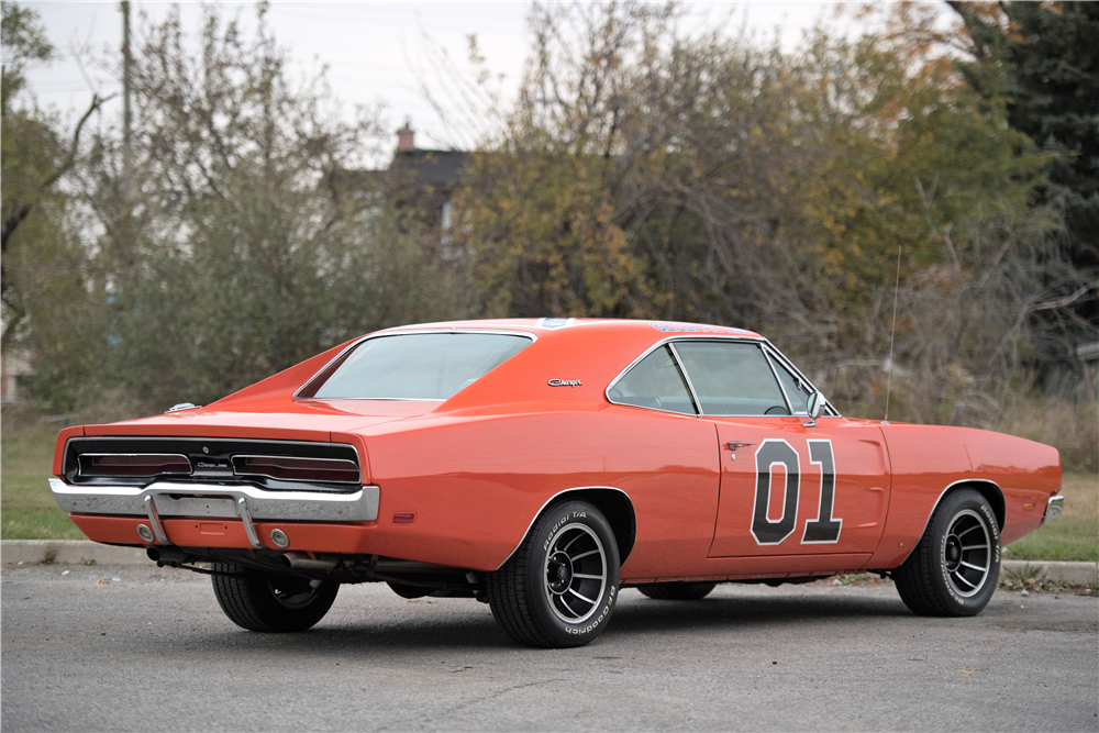 1969 DODGE CHARGER CUSTOM COUPE - Rear 3/4 - 212845