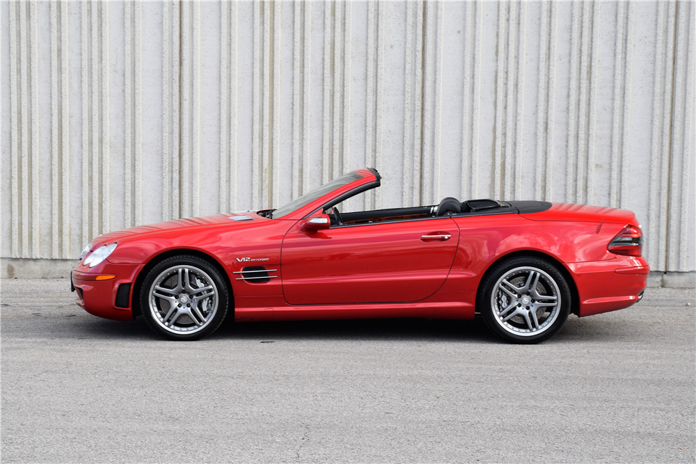 2005 MERCEDES-BENZ SL65 AMG CONVERTIBLE - Side Profile - 212846