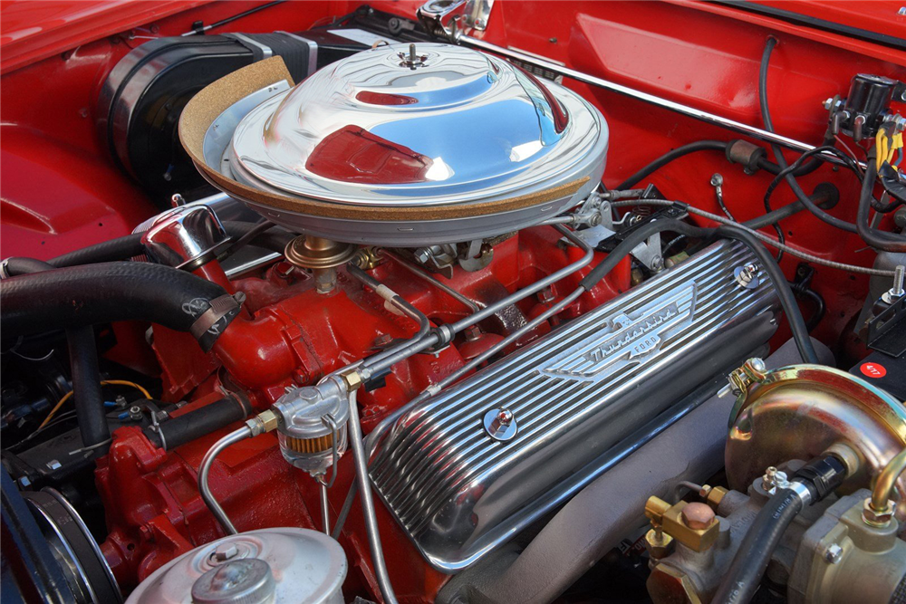 1955 FORD THUNDERBIRD CONVERTIBLE - Engine - 212858