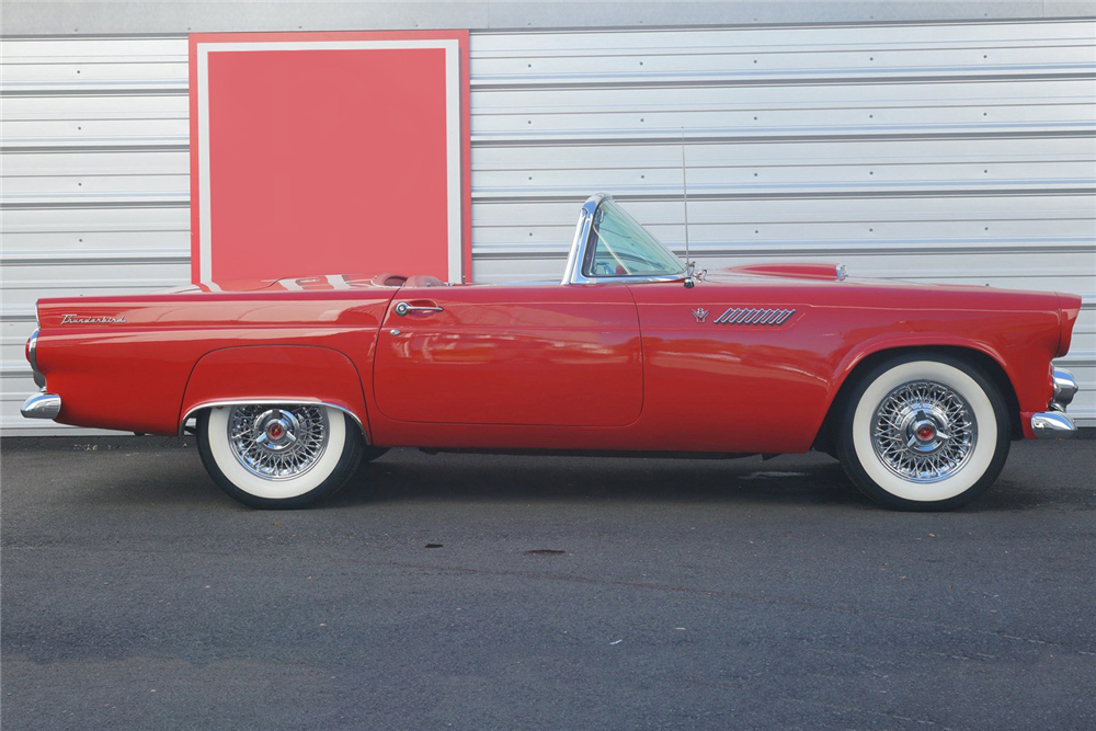1955 FORD THUNDERBIRD CONVERTIBLE - Side Profile - 212858