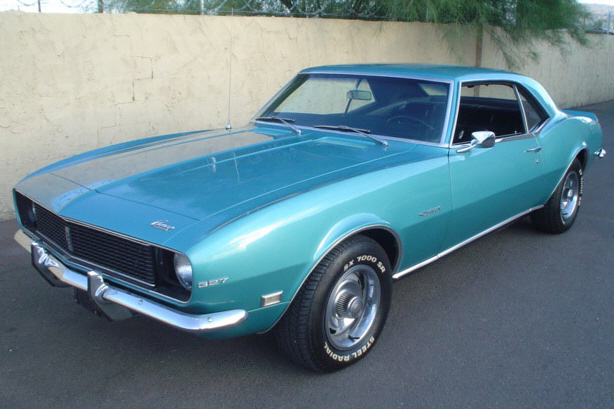 1968 CHEVROLET CAMARO COUPE - Front 3/4 - 21286