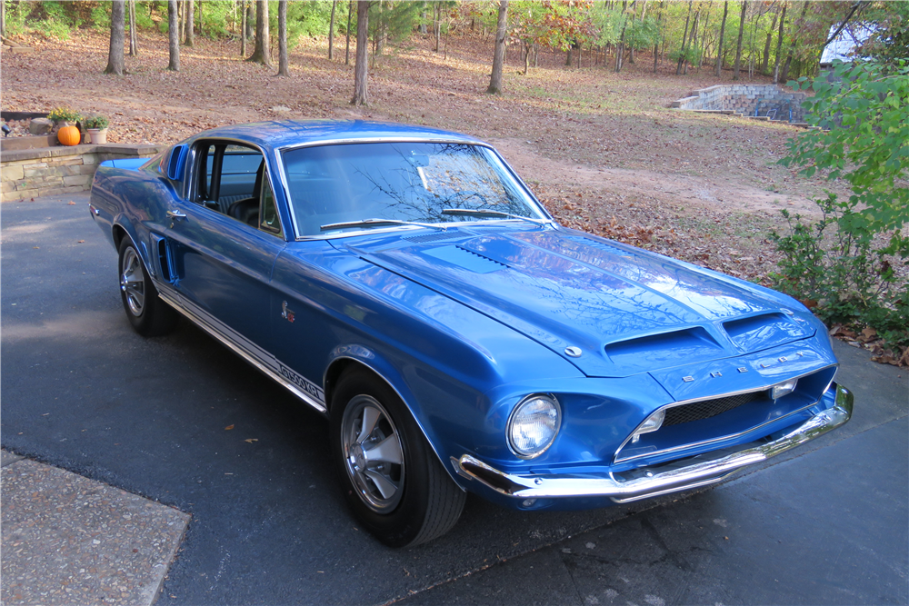 1968 SHELBY GT500KR - Front 3/4 - 212866