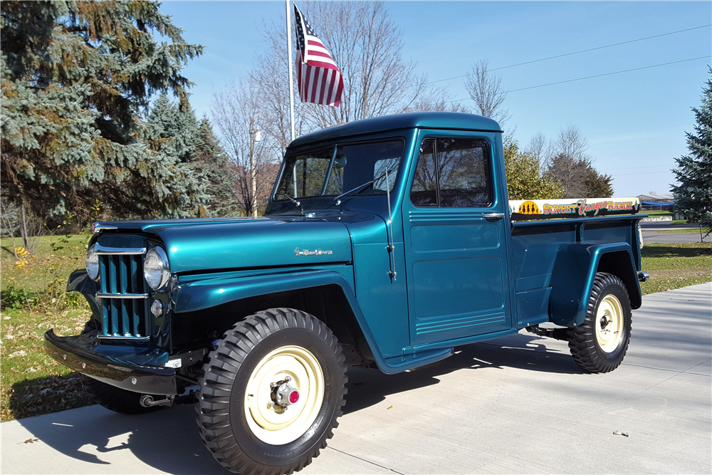 1955 WILLYS JEEP PICKUP - Front 3/4 - 212875