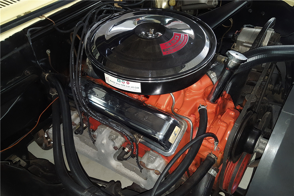 1967 CHEVROLET CAMARO RS/SS CONVERTIBLE - Engine - 212902