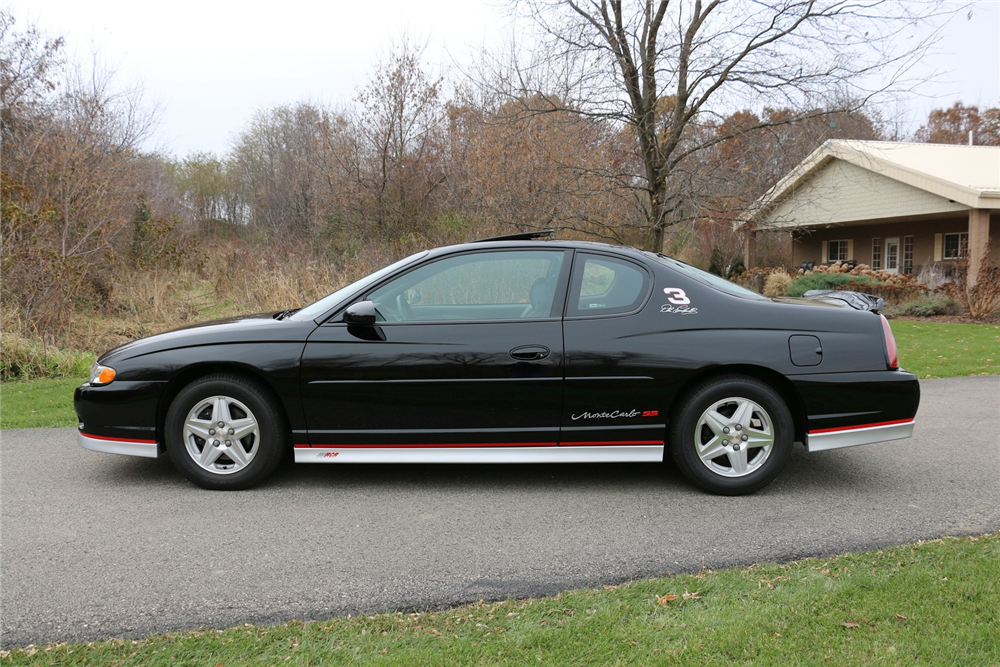 2002 CHEVROLET MONTE CARLO DALE EARNHARDT EDITION - Side Profile - 212948