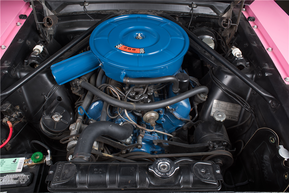 CHER'S 1966 FORD MUSTANG CUSTOM CONVERTIBLE - Engine - 212974