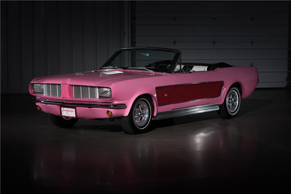 CHER'S 1966 FORD MUSTANG CUSTOM CONVERTIBLE - Front 3/4 - 212974