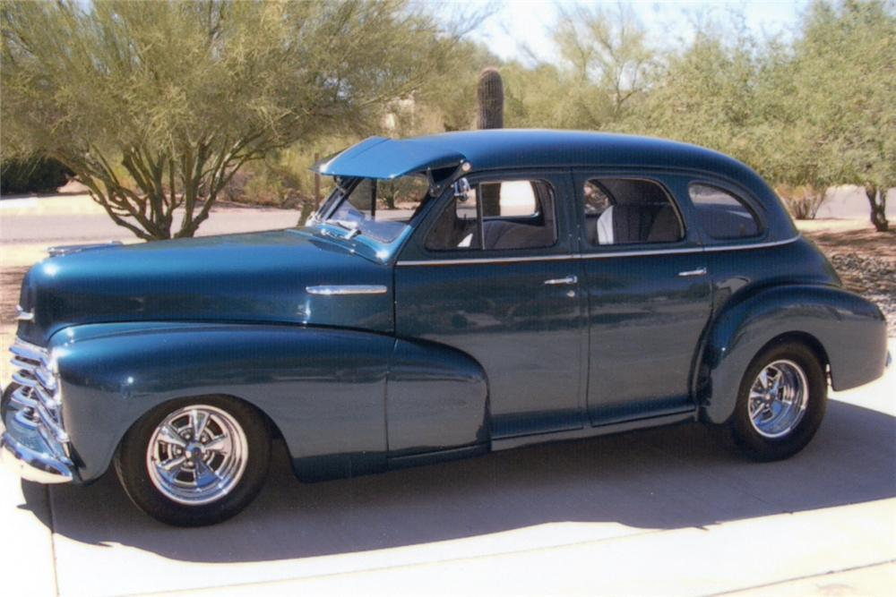 1947 chevrolet stylemaster custom 4 door sedan 21301